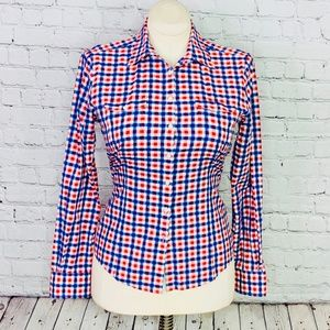 "BROOKS BROTHERS: ""346"" Gingham Button Down"